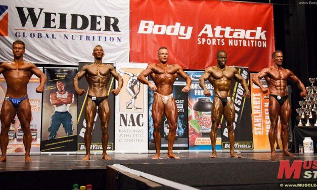 NAC Deutsche Meisterschaft 2013 im Bodybuilding & Fitness in Cuxhaven